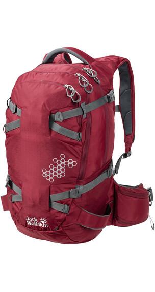 Jack Wolfskin White Rock 30 Pro Hiking Pack dark red